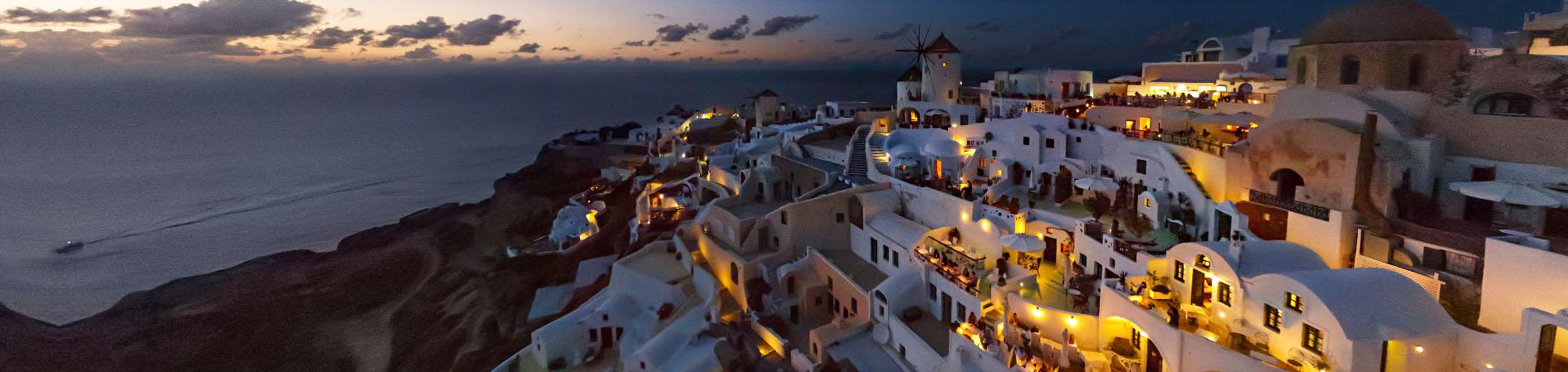Santorini honeymoon suite